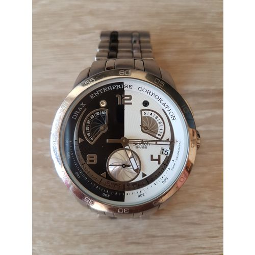 Montre Chrono Swatch Post Irony Consommation T1uclFKJ3