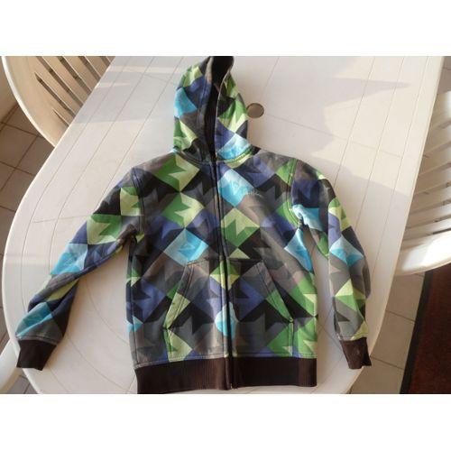 matériaux de qualité supérieure officiel de vente chaude style attrayant Sweat Quiksilver sweat capuche Coton 12 ans Imprimé