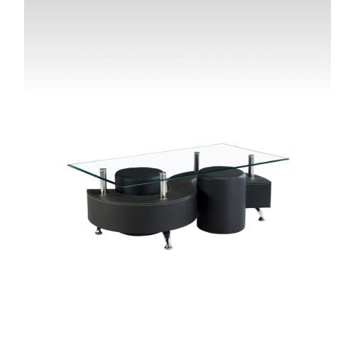 Table Basse Avec Tabouret.Table Basse Avec Pouf