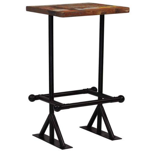 Outdoor Side Table Basse Petit Bois Pliable Poids Léger Carré 46 x 46 cm NEUF