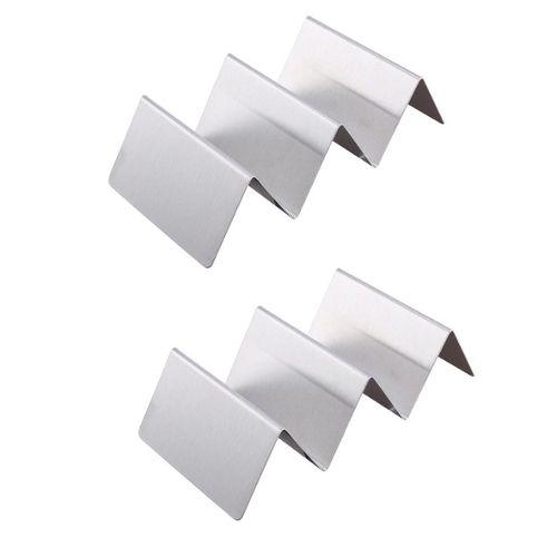 Lot de 4/assiettes avec plateau en acier en caoutchouc pour pont /él/évateur Zippo 120/mm 3/trous