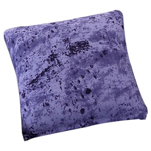 """Lavender /& Prune Grande Fleur Tissu Housses De Coussin 18X18/""""//45 cm"""