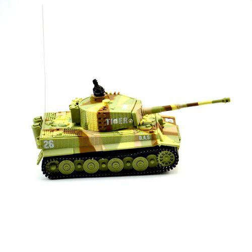 Rc De Tank Jaune Voiture Télécommande Guerre Enfant Mini Jouet 2117 Cadeau rCBWodxe