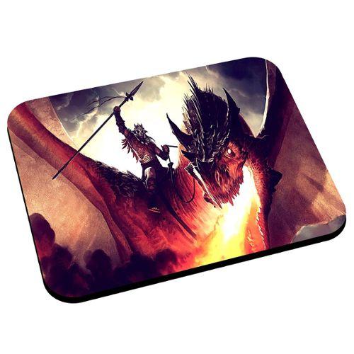 Tapis De Souris Dragon Crache Feu Fantastique Rakuten