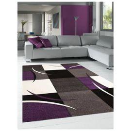 Tapis salon DIAMOND COMMA Violet 160 x 230 cm Tapis de Salon Moderne Design  par Dezenco