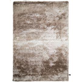 Tapis shaggy à poils longs Whisper Beige/Marron clair 120x170 cm - Tapis  doux pour salon