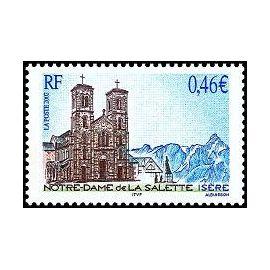 Timbre Notre-Dame De La Salette - Isère (Emission De 2002)