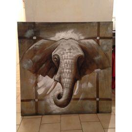 Toile Elephant Maison Du Monde 99 5 X 99 5 Cm