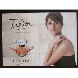 Avec Penélope Publicité Lancôme Lanc08 Trésor Cruz Parfum De pGLUjqSMzV
