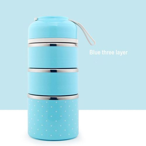 Insulated Food Container Thermo Pot Tasse de Voyage Boîte Déjeuner Warmer Cooler enfant adulte