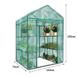 UK STOCK Apex Toit PE Housse Étui Film à Serre de Jardin Maison Verte  Plante Durable Couverture Protection Anti Insect Rongeur