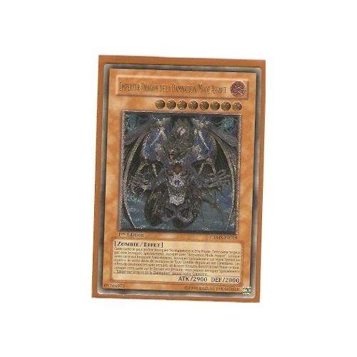 OCCASION Carte Yu Gi Oh EMPEREUR DRAGON DE LA DAMNATION//MODE ASSAUT CRMS-FR019 1