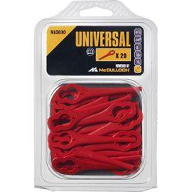 Universal lames plastiques pour coupe bordures sans fil - Batterie pour coupe bordure bosch ...