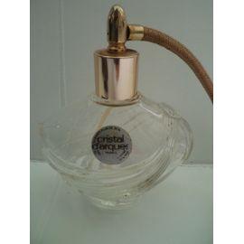 Avec Cristal Poire Parfum Ancien À Flacon D'arques En Vaporisateur Pulvérisateur POukiXZwT