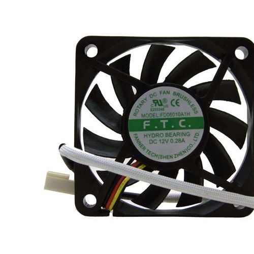 BeMatik VL022 Ventilateur de ch/âssis 24 VDC 50 x 50 x 10 mm