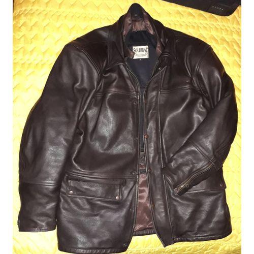Veste moto homme textile