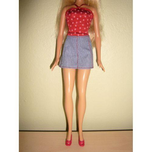 HEARTS /& BOWS ensemble de lit pour poupée Barbie Annie/'s CROCHET PATTERN notice NEUF