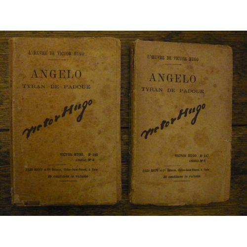 L Oeuvre De Victor Hugo N 147 148 Angelo Tyran De Padoue 1 Et 2