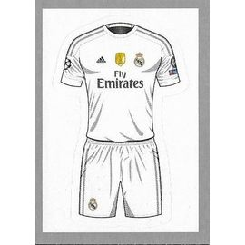 sports shoes c88ca 25542 VIGNETTE TOPPS UEFA CHAMPIONS LEAGUE 2015 -16 - REAL MADRID MAILLOT N°8