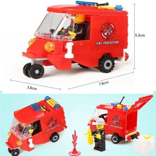 Lego duplo avion rouge jaune pneu roue Châssis remorque Hélicoptère Hélicoptère