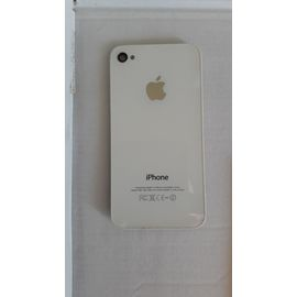 vitre arriere iphone 4s blanc original 1108425120 ML