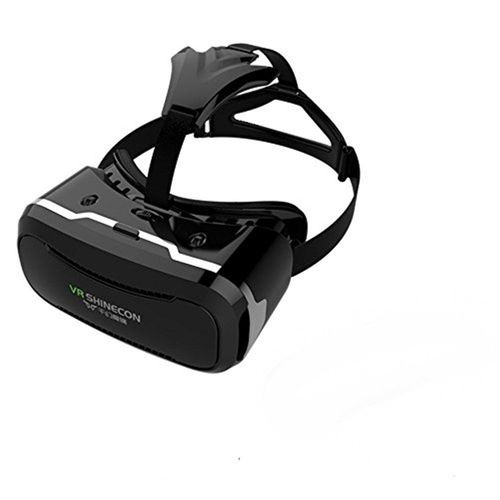 plus de photos profiter du meilleur prix meilleure sélection de VR SHINECON 2e versiondocuments réalité lunettes casque pour jeux de films  vidéos 3D + Remote contrôle manette de jeu Compatible avec la plupart ...