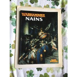 Warhammer Nains Un Livre D Armee Pour Warhammer